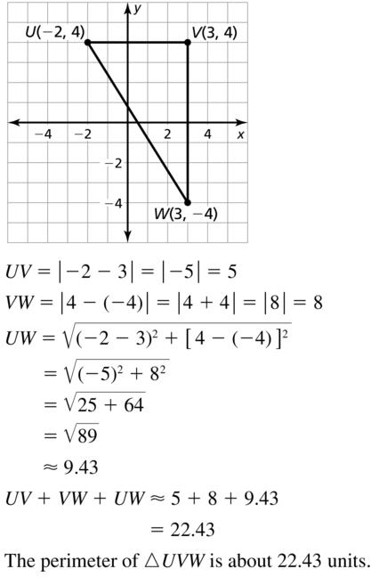 Big Ideas Math Answer Key Geometry Chapter 1 Basics of Geometry 1.4 a 9