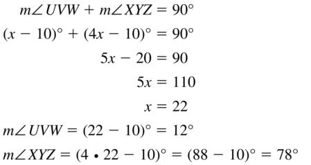 Big Ideas Math Answer Key Geometry Chapter 1 Basics of Geometry 1.6 a 13
