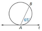 Big Ideas Math Answer Key Geometry Chapter 10 Circles 174
