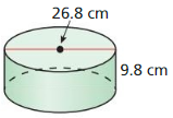 Big Ideas Math Answer Key Geometry Chapter 11 Circumference, Area, and Volume 170