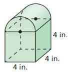 Big Ideas Math Answer Key Geometry Chapter 11 Circumference, Area, and Volume 188
