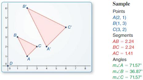 Big Ideas Math Answer Key Geometry Chapter 4 Transformations 121