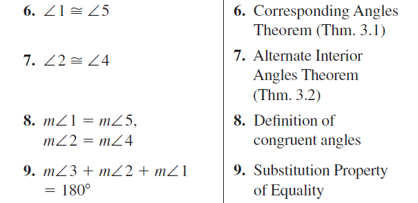 Big Ideas Math Answer Key Geometry Chapter 5 Congruent Triangles 5.1 a 53.2