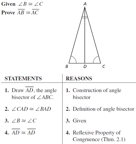 Big Ideas Math Answer Key Geometry Chapter 5 Congruent Triangles 5.6 a 27.1