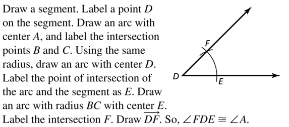 Big Ideas Math Answer Key Geometry Chapter 5 Congruent Triangles 5.6 a 37