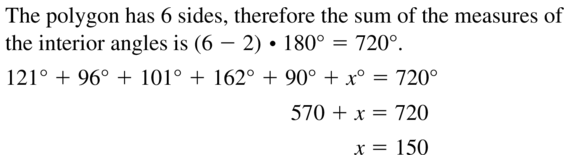 Big Ideas Math Answer Key Geometry Chapter 7 Quadrilaterals and Other Polygons 7.1 a 17