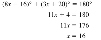 Big Ideas Math Answer Key Geometry Chapter 7 Quadrilaterals and Other Polygons 7.1 a 55