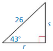 Big Ideas Math Answer Key Geometry Chapter 9 Right Triangles and Trigonometry 154
