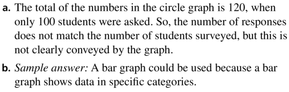 Big Ideas Math Answers Algebra 1 Chapter 11 Data Analysis and Displays 11.5 a 29