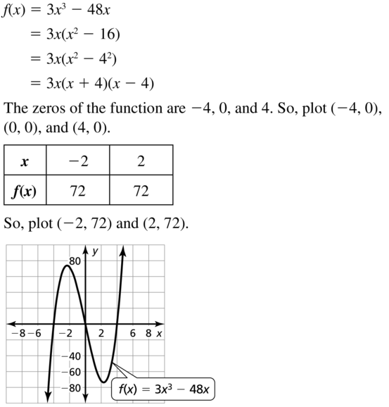 Big Ideas Math Answers Algebra 1 Chapter 8 Graphing Quadratic Functions 8.5 a 65