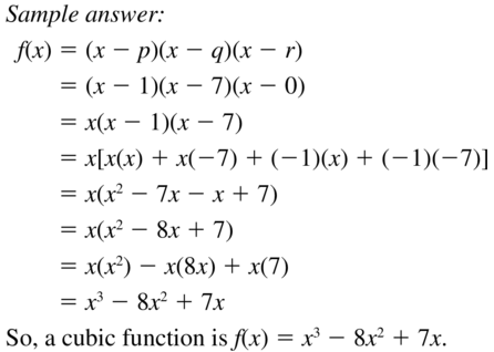 Big Ideas Math Answers Algebra 1 Chapter 8 Graphing Quadratic Functions 8.5 a 75