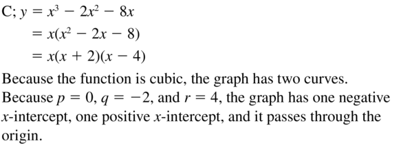 Big Ideas Math Answers Algebra 1 Chapter 8 Graphing Quadratic Functions 8.5 a 89