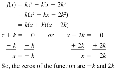 Big Ideas Math Answers Algebra 1 Chapter 8 Graphing Quadratic Functions 8.5 a 99