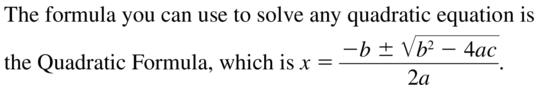 Big Ideas Math Answers Algebra 1 Chapter 9 Solving Quadratic Equations 9.5 a 1