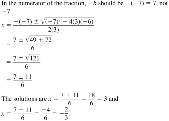 Big Ideas Math Answers Algebra 1 Chapter 9 Solving Quadratic Equations 9.5 a 45