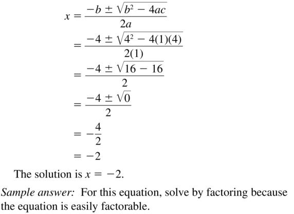 Big Ideas Math Answers Algebra 1 Chapter 9 Solving Quadratic Equations 9.5 a 53.2
