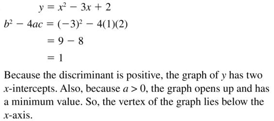 Big Ideas Math Answers Algebra 1 Chapter 9 Solving Quadratic Equations 9.5 a 63