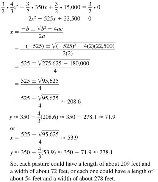 Big Ideas Math Answers Algebra 1 Chapter 9 Solving Quadratic Equations 9.5 a 71.2