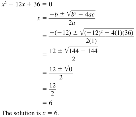 Big Ideas Math Answers Algebra 1 Chapter 9 Solving Quadratic Equations 9.5 a 9
