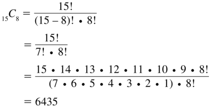 Big Ideas Math Answers Algebra 2 Chapter 10 Probability 10.5 a 31