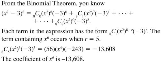 Big Ideas Math Answers Algebra 2 Chapter 10 Probability 10.5 a 61