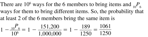 Big Ideas Math Answers Algebra 2 Chapter 10 Probability 10.5 a 73