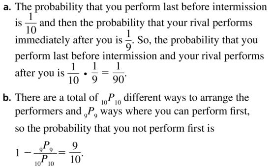 Big Ideas Math Answers Algebra 2 Chapter 10 Probability 10.5 a 75