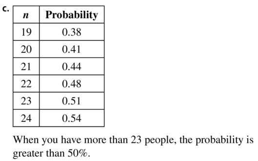 Big Ideas Math Answers Algebra 2 Chapter 10 Probability 10.5 a 79.2