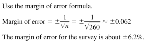 Big Ideas Math Answers Algebra 2 Chapter 11 Data Analysis and Statistics 11.5 a 11