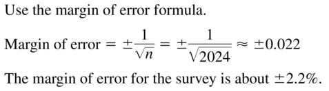 Big Ideas Math Answers Algebra 2 Chapter 11 Data Analysis and Statistics 11.5 a 13
