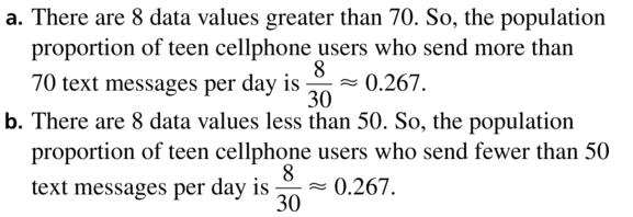 Big Ideas Math Answers Algebra 2 Chapter 11 Data Analysis and Statistics 11.5 a 5