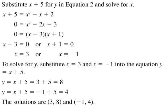 Big Ideas Math Answers Algebra 2 Chapter 3 Quadratic Equations and Complex Numbers 3.5 a 15