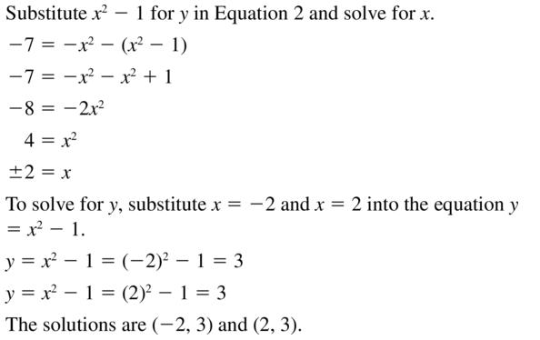 Big Ideas Math Answers Algebra 2 Chapter 3 Quadratic Equations and Complex Numbers 3.5 a 21