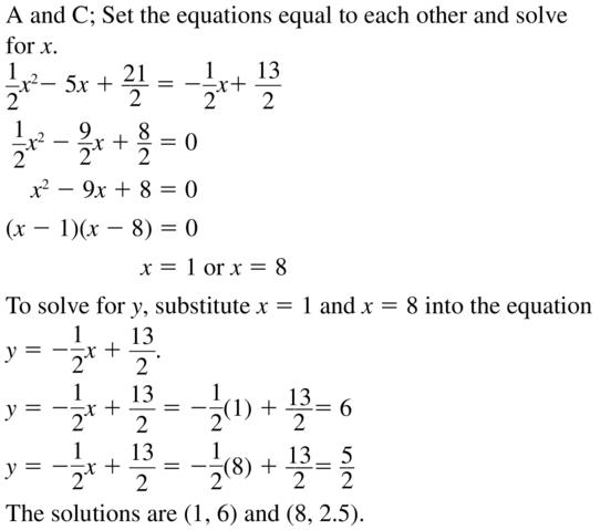 Big Ideas Math Answers Algebra 2 Chapter 3 Quadratic Equations and Complex Numbers 3.5 a 25