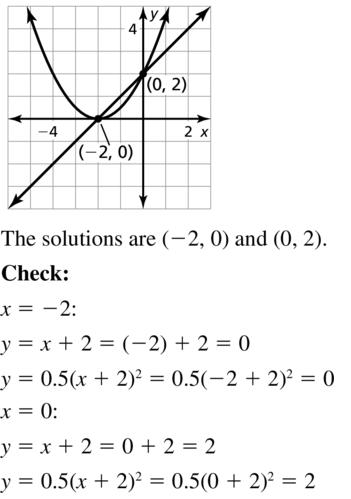 Big Ideas Math Answers Algebra 2 Chapter 3 Quadratic Equations and Complex Numbers 3.5 a 3