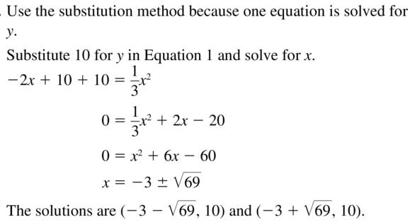 Big Ideas Math Answers Algebra 2 Chapter 3 Quadratic Equations and Complex Numbers 3.5 a 39