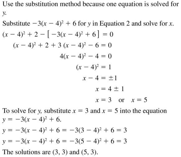Big Ideas Math Answers Algebra 2 Chapter 3 Quadratic Equations and Complex Numbers 3.5 a 41