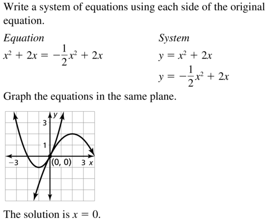 Big Ideas Math Answers Algebra 2 Chapter 3 Quadratic Equations and Complex Numbers 3.5 a 43