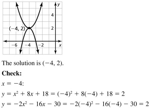 Big Ideas Math Answers Algebra 2 Chapter 3 Quadratic Equations and Complex Numbers 3.5 a 7