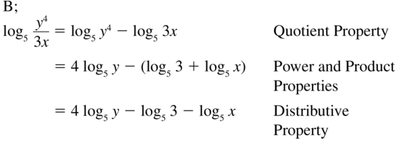 Big Ideas Math Answers Algebra 2 Chapter 6 Exponential and Logarithmic Functions 6.5 a 31