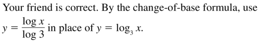 Big Ideas Math Answers Algebra 2 Chapter 6 Exponential and Logarithmic Functions 6.5 a 41
