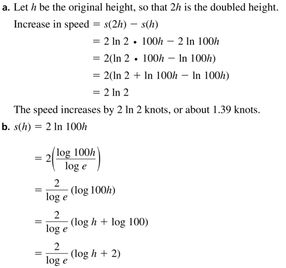 Big Ideas Math Answers Algebra 2 Chapter 6 Exponential and Logarithmic Functions 6.5 a 45