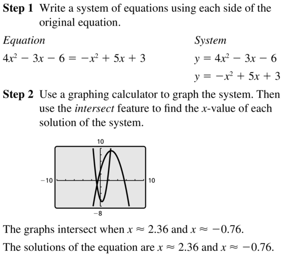 Big Ideas Math Answers Algebra 2 Chapter 6 Exponential and Logarithmic Functions 6.5 a 53