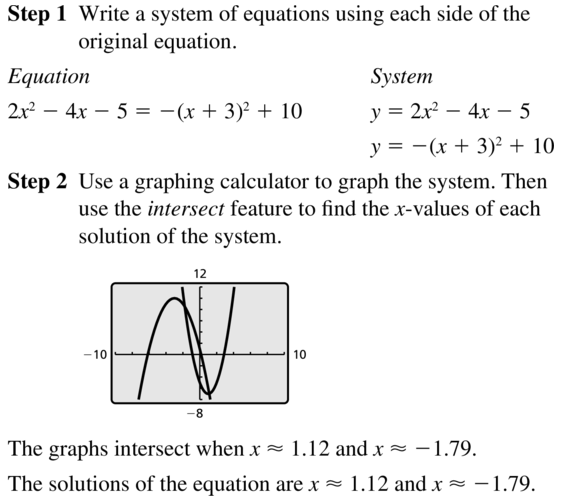 Big Ideas Math Answers Algebra 2 Chapter 6 Exponential and Logarithmic Functions 6.5 a 55
