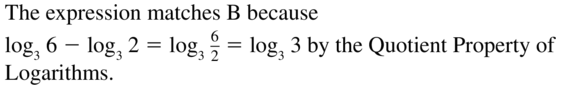 Big Ideas Math Answers Algebra 2 Chapter 6 Exponential and Logarithmic Functions 6.5 a 9