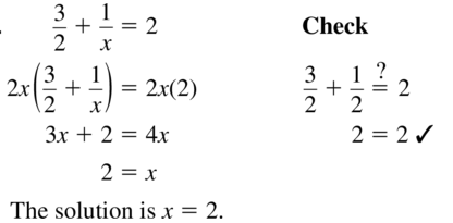 Big Ideas Math Answers Algebra 2 Chapter 7 Rational Functions 7.5 a 19