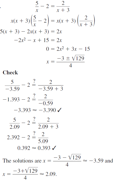 Big Ideas Math Answers Algebra 2 Chapter 7 Rational Functions 7.5 a 29