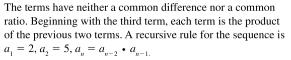 Big Ideas Math Answers Algebra 2 Chapter 8 Sequences and Series 8.5 a 17