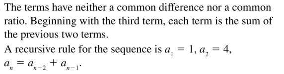 Big Ideas Math Answers Algebra 2 Chapter 8 Sequences and Series 8.5 a 19