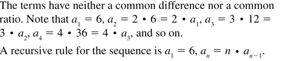 Big Ideas Math Answers Algebra 2 Chapter 8 Sequences and Series 8.5 a 21